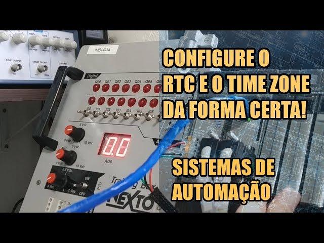 DICA INCRÍVEL PARA AJUSTE DE RTC E TIME ZONE NO CLP | Sistemas de Automação #029