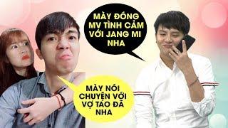 Thánh sợ vợ Cris Devil tá hỏa khi Duy Khánh gọi điện nhờ đóng MV tình cảm mùi mẫn với Jang Mi