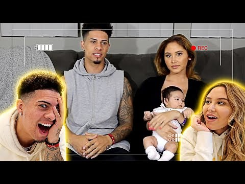REACTING TO OUR FIRST EVER YOUTUBE VIDEO!!! **SHOULD WE DELETE IT???**