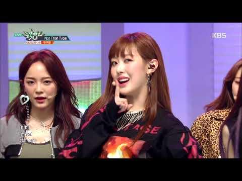 뮤직뱅크 Music Bank - Not That Type - 구구단(gugudan).20181109