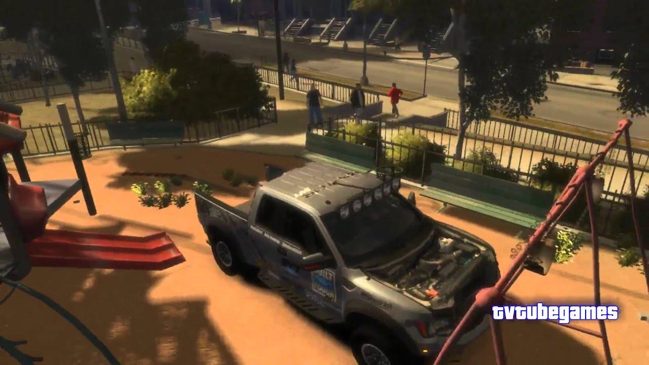 grand theft auto iv 2011 ford racing raptor xt crash test 720p youtube. Black Bedroom Furniture Sets. Home Design Ideas