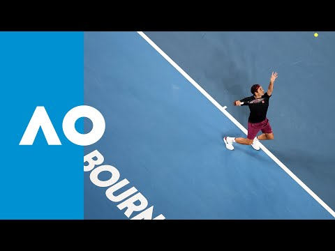 How he did it: every set point from Roger Federer vs John Millman | Australian Open 2020