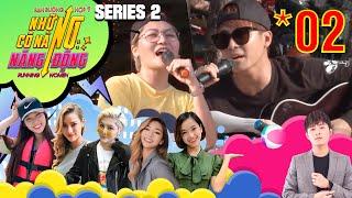 Running Women 2-NCNND  Tập 2 FULL Gin Tuấn Kiệt ôm đàn ra chợ hát rong cùng Vicky Nhung vì túng tiền