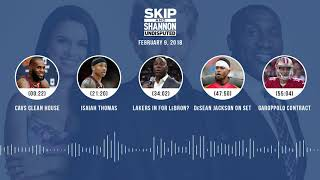 UNDISPUTED Audio Podcast (2.09.18) with Skip Bayless, Shannon Sharpe, Joy Taylor | UNDISPUTED