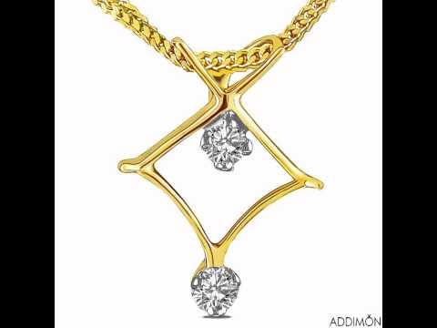 Unique Beautiful Diamond Pendant