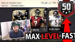 BEST OF THE BEST PACK!! FASTEST WAY TO LEVEL UP IN MADDEN 18!   MADDEN 18 PACK OPENING