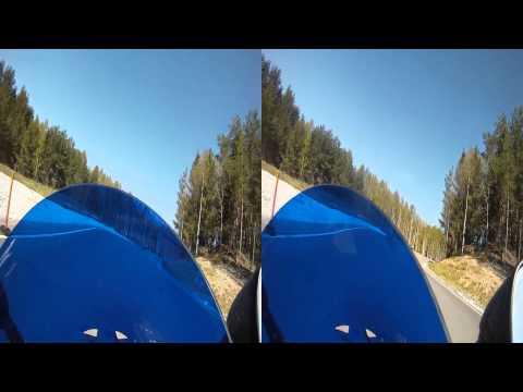 Arlanda Test Track 2012-05-15 steg 4 snabb svarta västar pass 3 oredigerat i 3D SBS