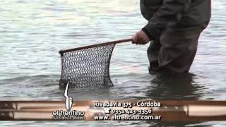 Pesca lagunas tierra del fuego