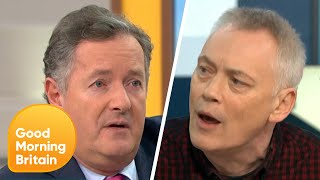 Piers and Terry Christian Have a Heated Debate Over If Britain is Finished   Good Morning Britain
