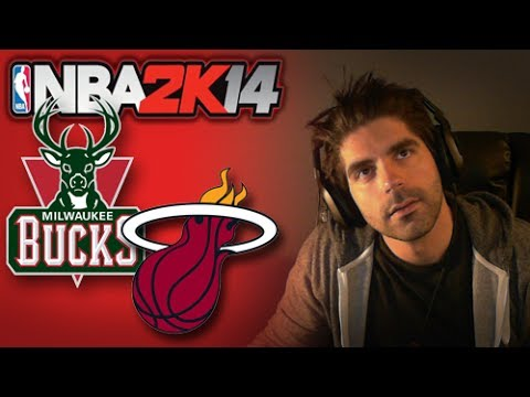 NBA 2K14 [Next Gen] Game 2 :: Heat vs Bucks thumbnail