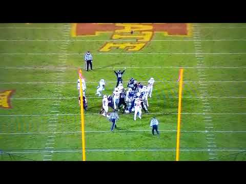 Iowa State Game Winning Field Goal vs. Texas NCAAF 2019
