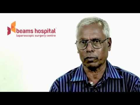 Testimonial by Mr. A Venkatesan - Laparoscopic Hernia Repair