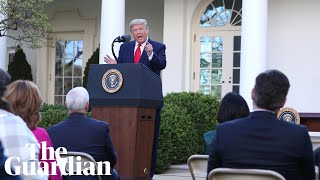 Trump attacks journalist for asking 'snarky' questions on ..