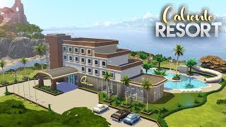 MR OLKAN'S WATER PARK || The Sims 4 Speed Community Lot