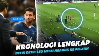 """""""Jangan pernah Ganti Messi"""" Lihatlah Kemarahan Messi Kepada Pochettino Usai Ditarik Keluar Lapangan"""
