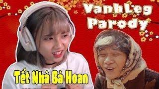 """Cảm Xúc Của Nabee Khi Xem """"Tết Nhà Bà Hoan ( Parody ) - Hài Tết 2018 - LEG""""    Nabee Reaction"""