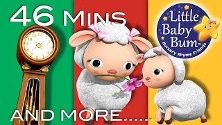 Little Baby Bum | Hickory Dickory Dock | Nursery Rhymes for Babies | Songs for Kids
