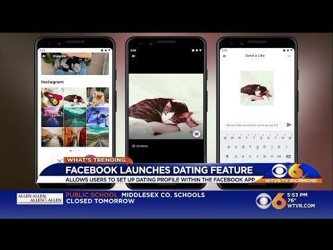 Facebook launches dating app