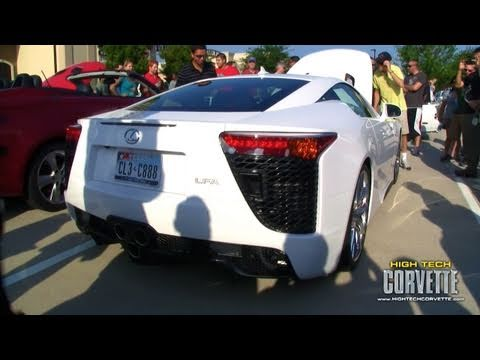 Lexus LFA Exhaust Sound - Coffee an Cars - June 2011