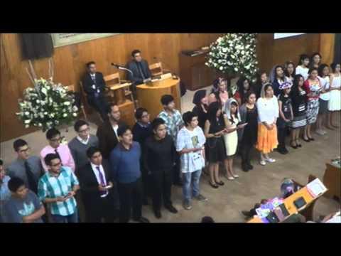 Culto Vespertino + Recibimiento Fiesta De Pentecostes (23 De Mayo De 2015)