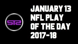 NFL Playoffs - January 13, 2018 - NFL Pick of The Day - Today NFL Picks ATS Tonight - 1/13/18