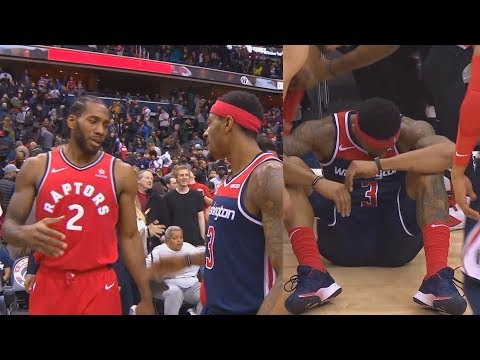 Kawhi Leonard Hugs Heart-Broken Bradley Beal & Gives Him Respect! Raptors vs Wizards