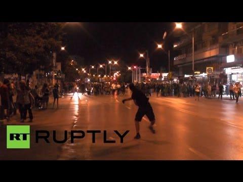 Более 120 человек задержано на акции протеста в Греции