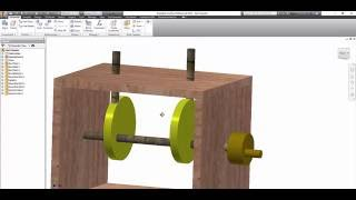 Autodesk Inventor Cam Follower Project Tutorial  **PLEASE SUBSCRIBE**