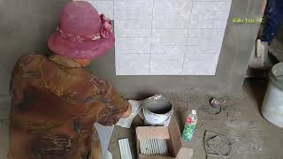 Xem Ốp Gạch Trang Trí Phòng Ngủ Vùng Quê Nhà Cấp 4 (TC)
