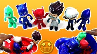 Pj Masks Wrong Heads Learn colors cars for kids #PjMasks #PjMasksWrongHeads #WrongHeads #LearnColors