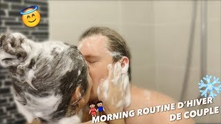 ♡ WINTER MORNING ROUTINE DE COUPLE ♡