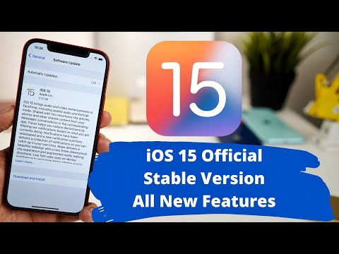 iOS 15 Official Stable Released | All new features explained in Hindi