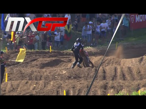 GASER CRASH MXGP Race 2 MXGP of Latvia 2020