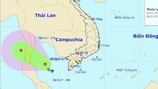Tin áp thấp nhiệt đới : Tin về một vùng áp thấp trên khu vực vịnh Thái Lan