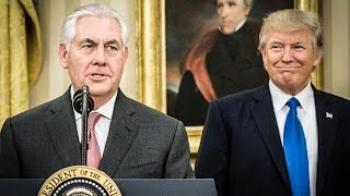 Secretary Of State Suddenly Realizes Trump Is Unprofessional After He Attacks Jeff Sessions