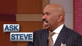 Ask Steve: I Looked Dead At Your Chest || STEVE HARVEY
