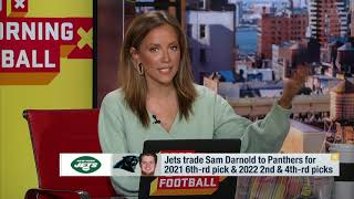 GMFB: The Biggest Winners Of The Sam Darnold Trade | The New York Jets | NFL