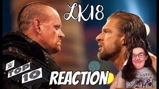 LK18 - #WWE Top 10 - Greatest Undertaker vs Triple H Showdowns Reaction
