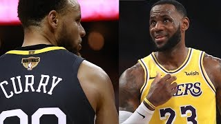 NBA Rookies Don't Like Steph Curry AT ALL, Vote Lebron James Their Favorite Player!