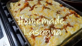 Delicious sour cream Lasagna!