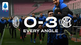 AC MILAN 0-3 INTER | EVERY ANGLE! | Lautaro and Lukaku's goals from every possible view... 🥰⚫🔵