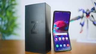 My Samsung Galaxy Z Flip Unboxing AND First Impressions!