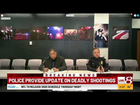 IMPD speaks on May 7, 2020 following the shooting of Sean Reed