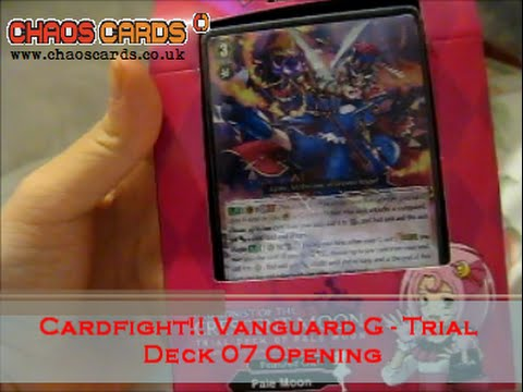 Cardfight!! Vanguard - G-TD07 - Trial Deck : Illusionist of the Crescent Moon