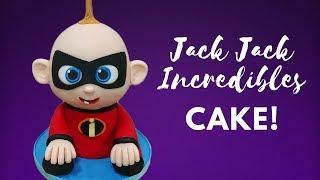 Jack Jack Incredibles 2 Cake Tutorial!