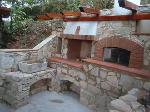 Come costruire un camino in un giardino con poca spesa - Costruire un camino in casa ...