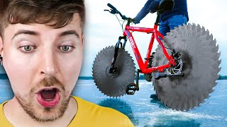 Cycling On Ice!