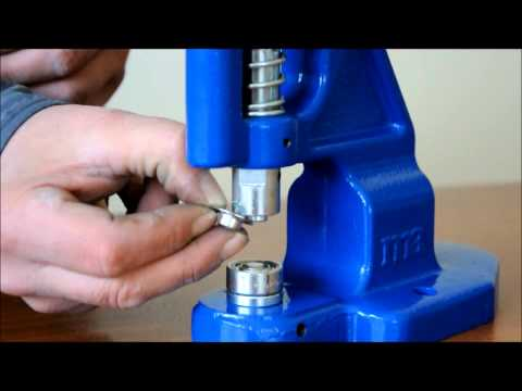 Micron TEP-1 Grommet Attaching machine Self Piercing Grommet Installation