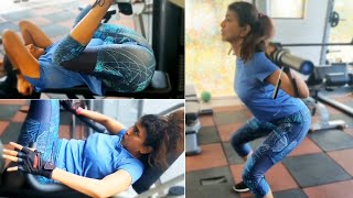Watch: Lakshmi Manchu workout video..