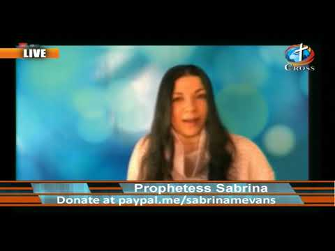 Prophetess Sabrina M. Evans ( it's Supernatural it's Real ) 04-08-2020